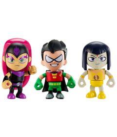 Mini-Figuras-Imaginext---DC-Comics---Teen-Titans-GO---3-Personagens---Robin-Raven-e-Sly-Jinx---Mattel