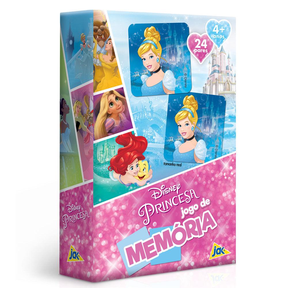 Jogo da Memória - Disney - Princesas - Toyster