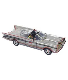 Carrinho-e-Figura-Die-Cast---1-24---Metals---DC-Comics---Hollywood-Series---Batmovel---DTC