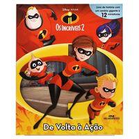 Livro-Infantil---Disney---Pixar---Os-Incriveis-2---De-Volta-a-Acao---Melhoramentos