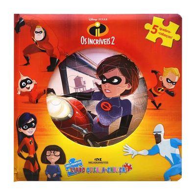 Livro-Infantil---Meu-Primeiro-Livro-Quebra-Cabeca---Disney---Pixar---Os-Incriveis-2---Melhoramentos