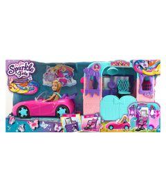 Playset-com-Veiculo-e-Boneca---Sparkle-Girlz---Beauty-Salon---DTC