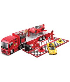 Playset-e-Veiculo---Ferrari-Race---Play---Racing-Hauler---Maisto