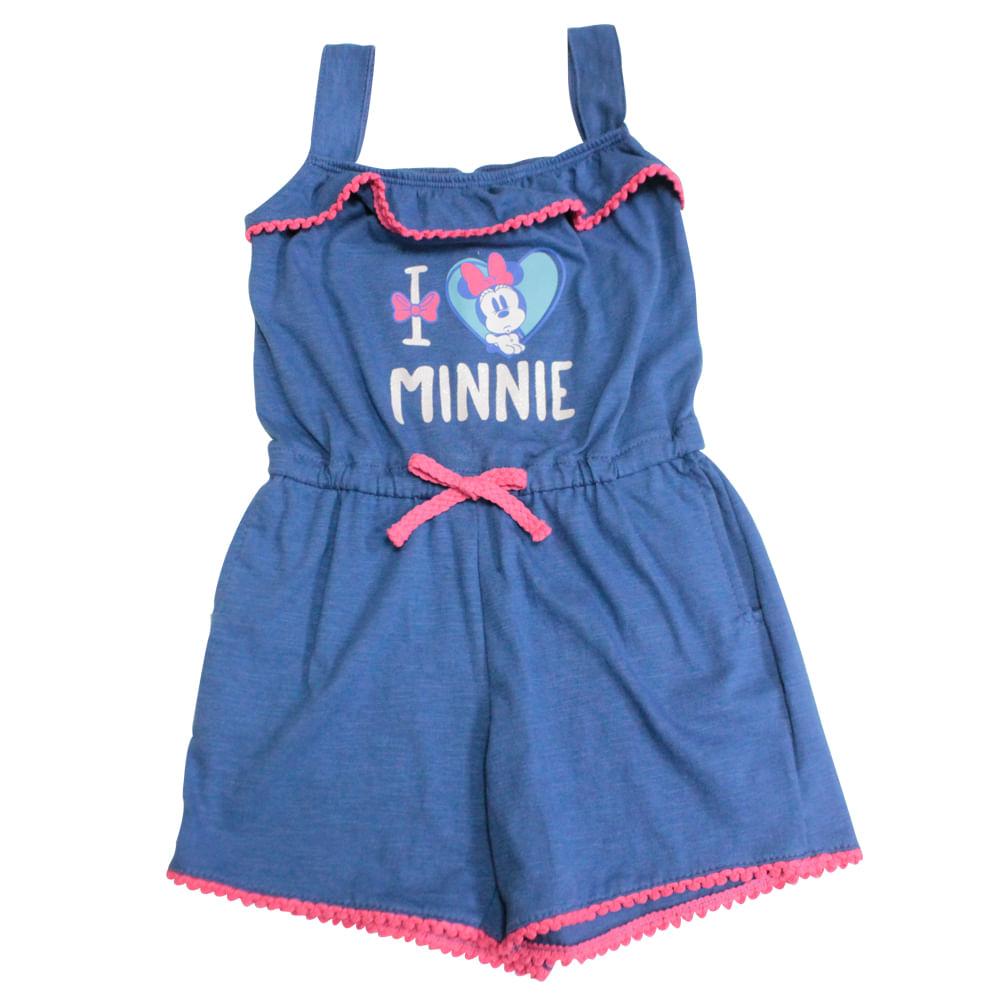 Macaquinho Infantil - Minnie Mouse - Disney