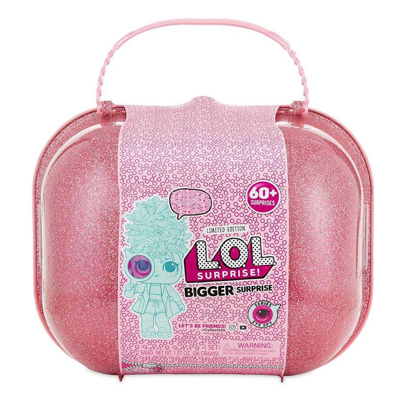 1f4b26106 Maleta com Mini Bonecas - LOL Surprise - Bigger Surprise - 60 Surpresas -  Candide - Ri Happy Brinquedos