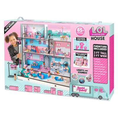 Playset-63-Cm-e-Mini-Bonecas---LOL---Surprise-House---85-Surpresas---Candide