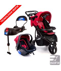 Travel-System-com-Base-IsoFix---Off-Road---Duo-Cherry---Infanti