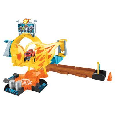Pista-e-Mini-Veiculos---Blaze---Axel-City---Mattel