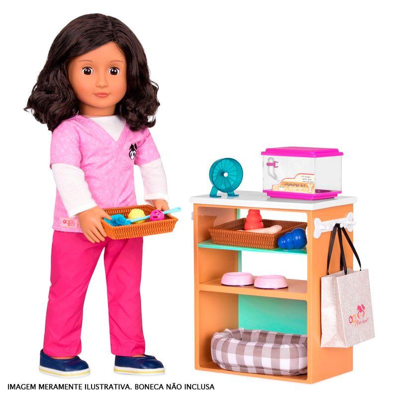 3673c00fb Acessórios de Boneca - Our Generation - Kit de Acessórios - Pet Shop - Ri  Happy Brinquedos