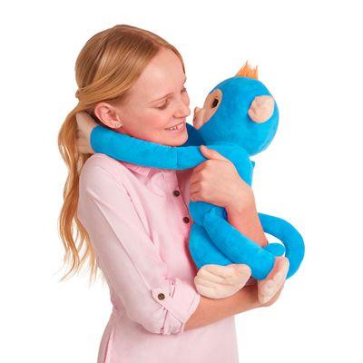 Pelucia-Interativa---Huglings---Monkey---Blue---Candide