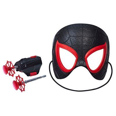 Mascara-com-Lanca-Teia---Disney---Marvel---Homem-Aranha---Miles-Morales---Hasbro
