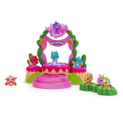Playset-e-Mini-Figura-Surpresa---Mostre-Seu-Brilho---Hatchimals-Colleggtibles---Sunny