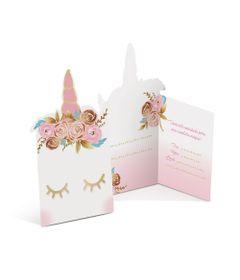 Acessorios-para-Festa---Convites-de-Aniversario---Unicornio---8-Un---Cromus