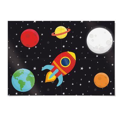 Acessorios-para-Festa---Painel-Decorativo---66x46-Cm---Astronauta---Cromus