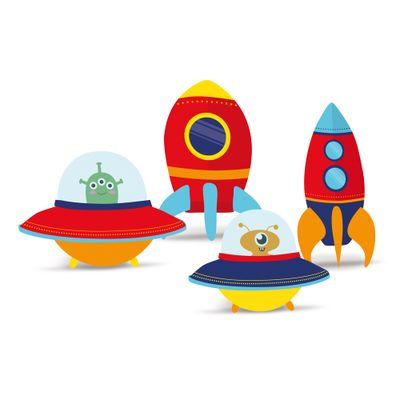 Acessorios-para-Festa---Silhuetas-Decorativas---Astronauta---4-Un---Cromus