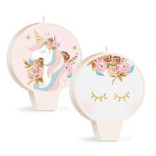Acessorios-para-Festa---Vela-Decorativa-Dupla-Face---Unicornio---Cromus