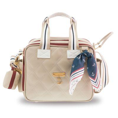 Bolsa-Sacola-Termica-Organizadora---28x25x18-Cm---Colecao-Navy---Bege---Masterbag