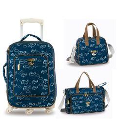 Kit-Maternidade---Mala-de-Rodinha---Bolsa-Anne-e-Frasqueira---Colecao-Aviao---Masterbag