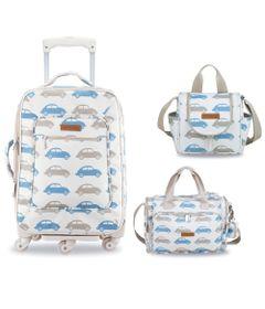 Kit-Maternidade---Mala-de-Rodinha---Bolsa-Anne-e-Frasqueira---Colecao-Fusca---Masterbag