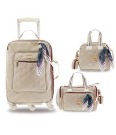 Kit-Maternidade---Mala-de-Rodinha---Bolsa-Anne-e-Frasqueira---Colecao-Navy---Bege---Masterbag