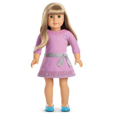 Boneca-e-Acessorios---American-Girl---Truly-Me---Cabelo-Loiro-Liso---Mattel