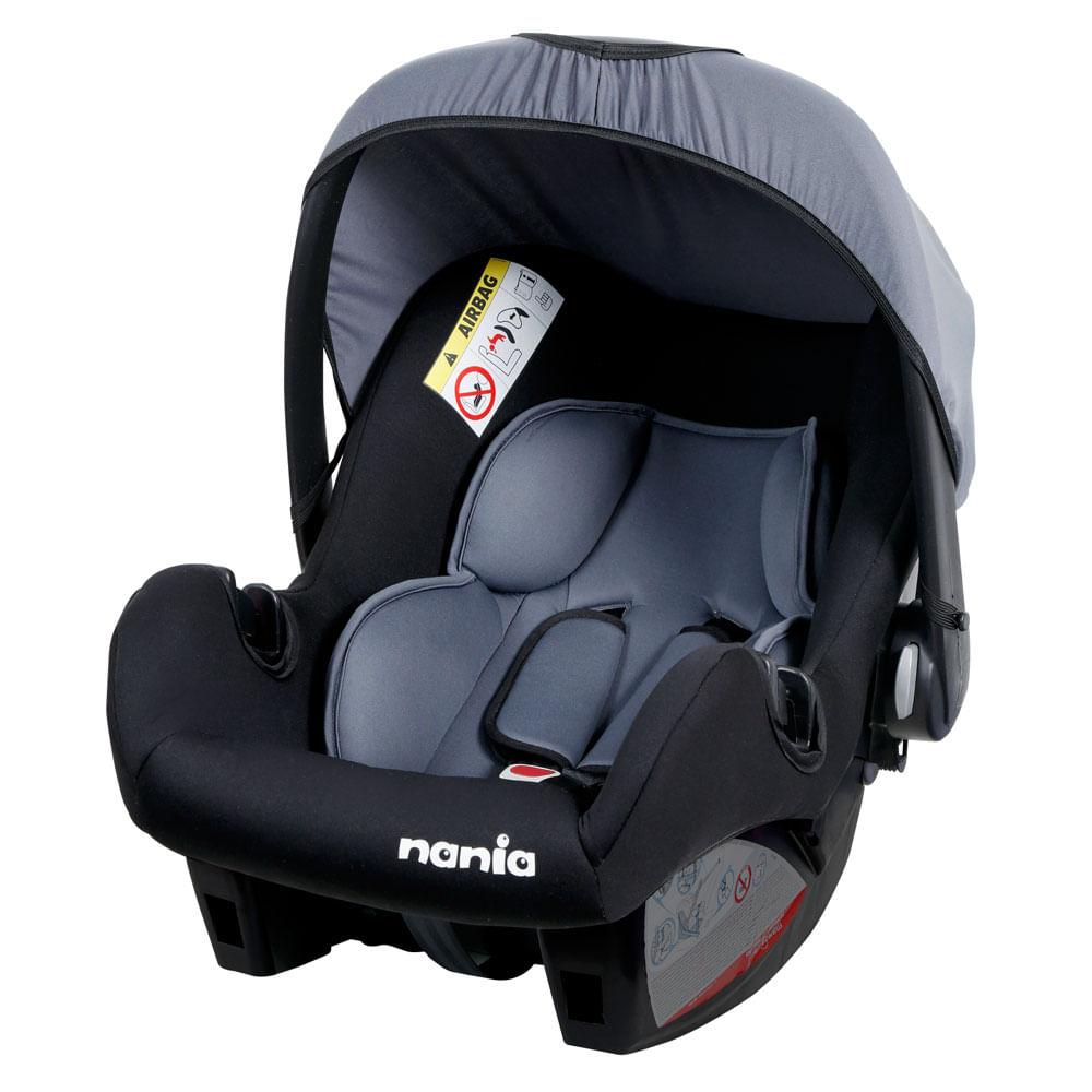 Bebê Conforto - De 0 a 13 Kg - Nania - Ange Accès - Foncé - Team Tex