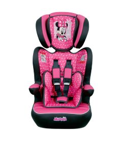 Cadeira-Para-Auto---De-9-a-36-Kg---Disney---I-Max---Minnie---Paris---Rosa---Team-Tex