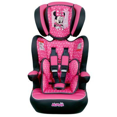 Cadeira-Para-Auto---De-9-a-36-Kg---Disney---I-Max---Minnie---Paris---Rosa---Team-Tex