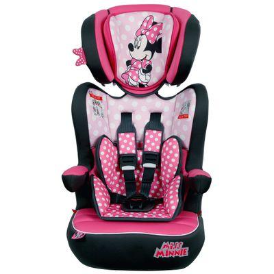 Cadeira-Para-Auto---De-9-a-36-Kg---Disney---I-Max---Minnie---Team-Tex