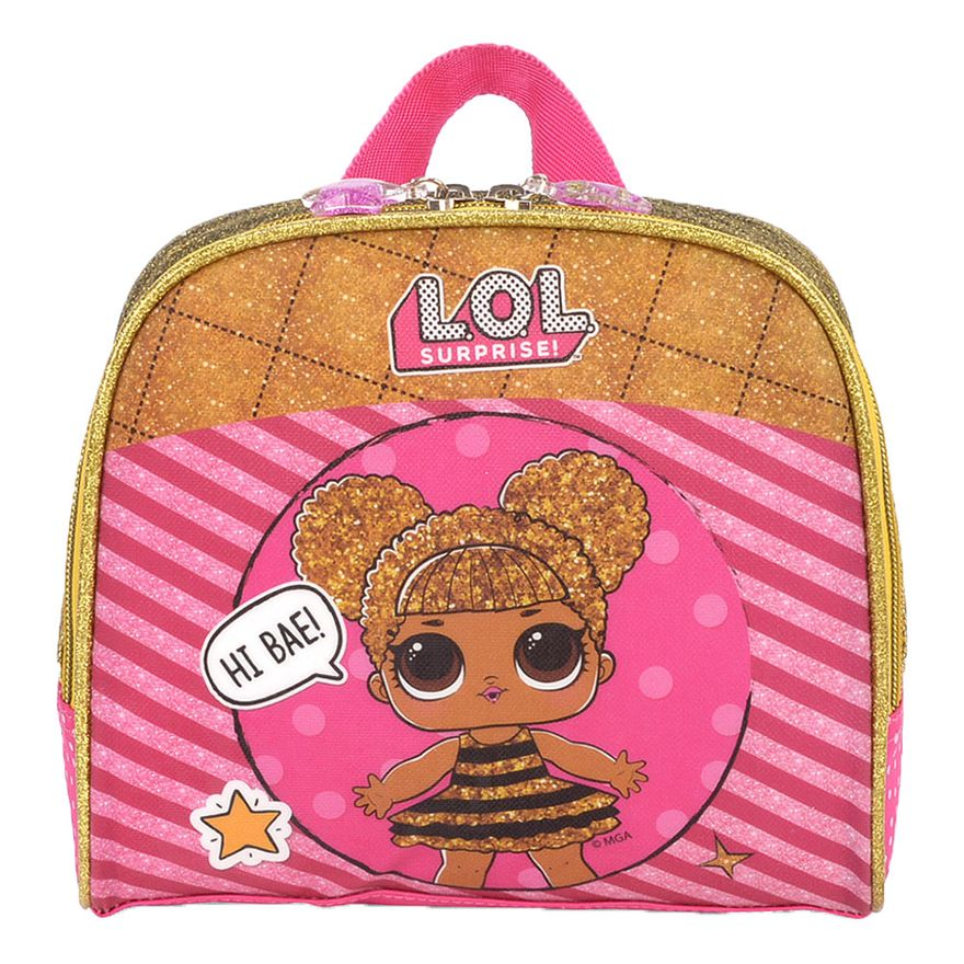 Lancheira-Termica---LOL-Surprise---Rosa-e-Amarelo---Luxcel