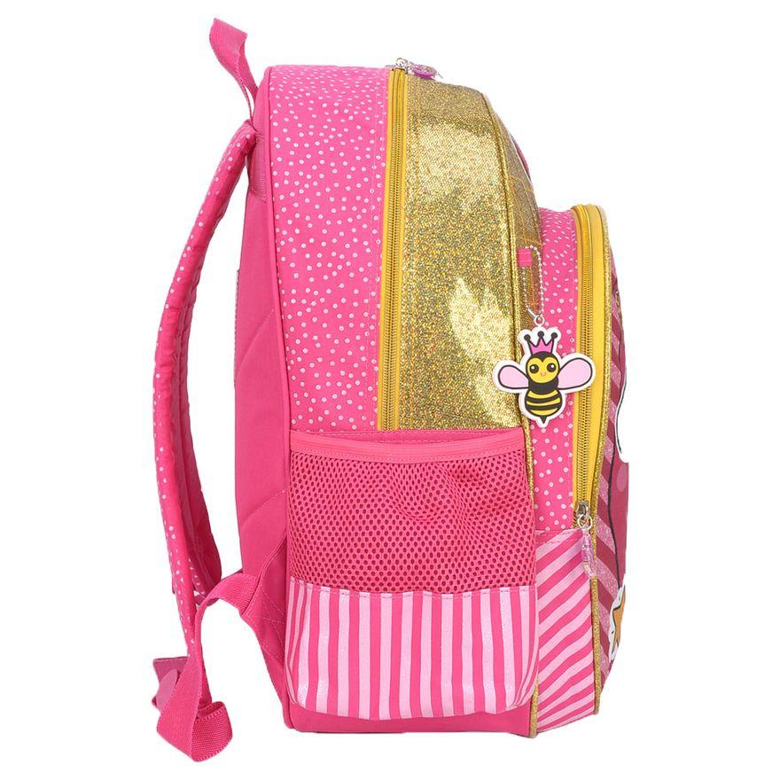 Mochila-40-Cm---LOL-Surprise---Rosa-e-Amarelo---Luxcel