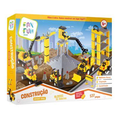 Blocos de Montar Construcao Grandes Obras FanFun