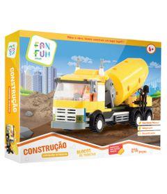 blocos-de-montar-construcao-caminhao-betoneira-fanfun-18NT172_Frente