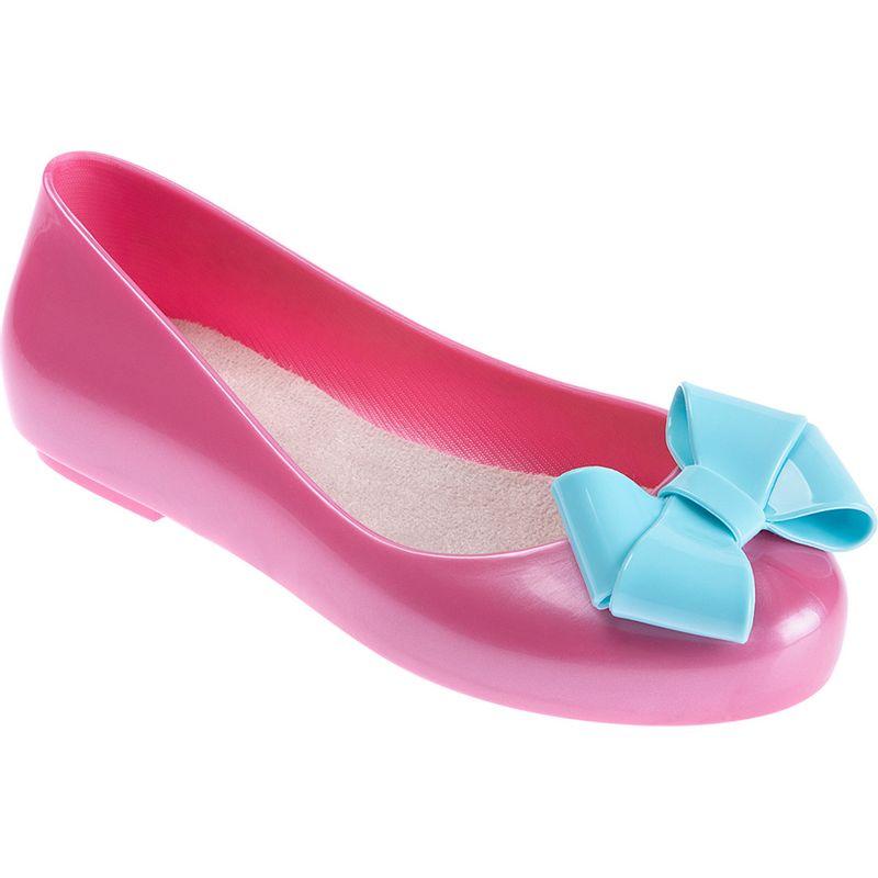 e772c92bc7 Sapatilha para Bebês - Feminina - Colore - Rosa com Laço Azul - Pimpolho -  Ri Happy Brinquedos
