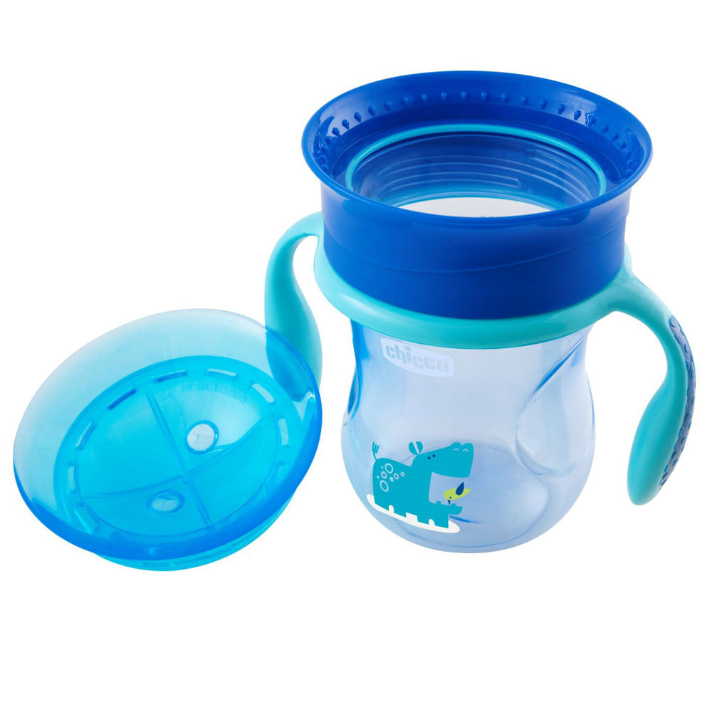 Copo de Treinamento - 360 Perfect Cup - 200 Ml - Azul - Chicco