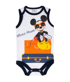 Body-Regata---Algodao---Branco-Marinho---Mickey-Mouse---Disney---P