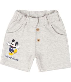 Bermuda-em-Algodao---Mescla-Banana---Mickey-Mouse---Disney---M