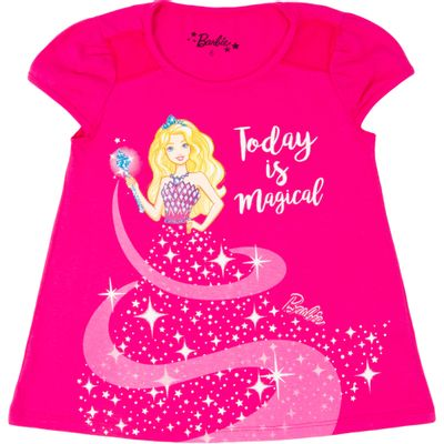 Blusa-Manga-Curta---Algodao---Pink---Barbie---8