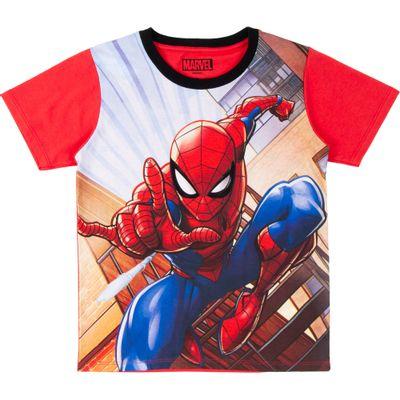 Camiseta-Manga-Curta---Algodao---Vermelho---Marvel---Spider-Man---Disney---6