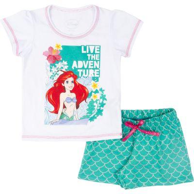 Pijama-em-Algodao---Branco---Ariel---Disney---1