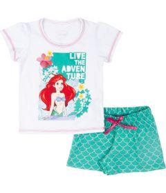Pijama-em-Algodao---Branco---Ariel---Disney---4