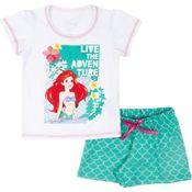 Pijama-em-Algodao---Branco---Ariel---Disney---6