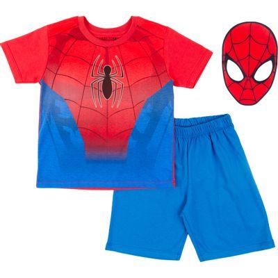 Pijama-em-Algodao---Estampado---Marvel---Spider-Man---Disney---4