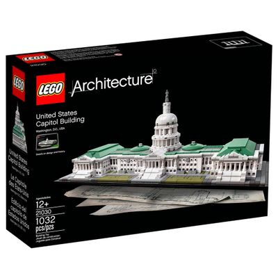 LEGO-Architecture---Capitolio---EUA---21030