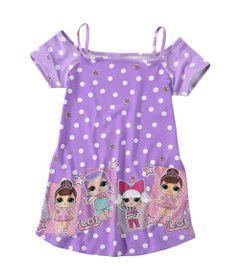 Vestido-Infantil-com-Alcinhas---Meia-Malha---Roxo-Estampado---LOL-Surprise----Malwee---4