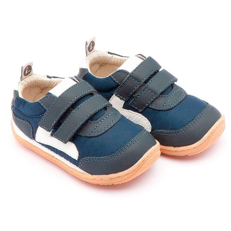 3a6f06cda9 Sapato para Bebê - Linha Jump - Little Jump - Nylon - Navy - Tip Toey Joey  - Ri Happy Brinquedos