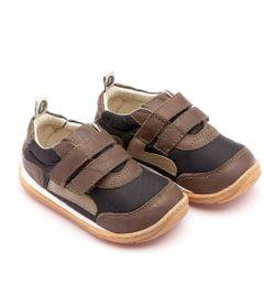 Sapato-para-Bebe---Linha-Jump---Little-Jump---Black-Nylon---Green-Crush---Tip-Toey-Joey