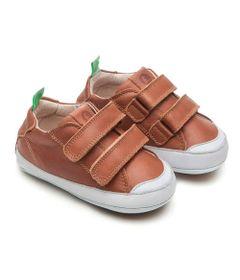 Sapato-para-Bebe---Linha-Originals---Bossy---Whisky---White---Tip-Toey-Joey