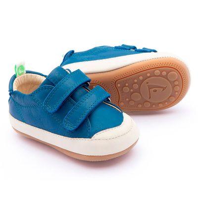 Sapato-para-Bebe---Linha-Originals---Bossy---Azul-Klein---Tapioca---Tip-Toey-Joey