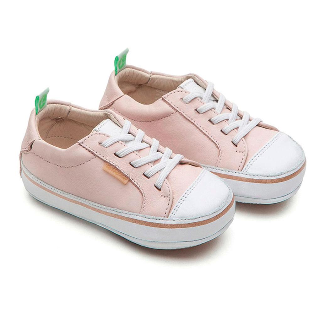 Tênis para bebês - Linha Originals - Funky - Cotton Candy - White - Tip Toey Joey